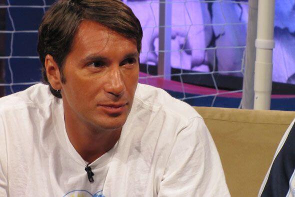 Alvaro Dellepere, fanático uruguayo, estaba feliz por el triunfo...
