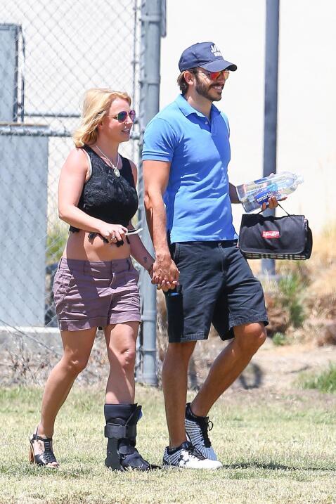 Britney y su novio