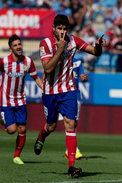 Al 36' Diego Costa marcó el 2-0 y ya se empezaba a gestar la goleada sob...