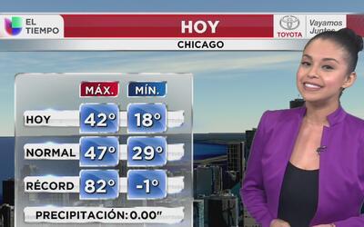 Posibilidad de lluvia y nieve en Chicago para este viernes 17 de marzo