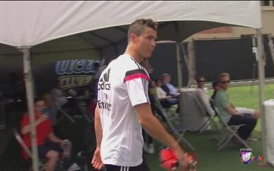 Cristiano Ronaldo sigue entrenando por separado