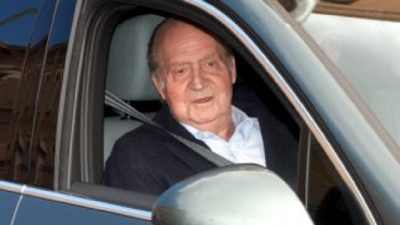 ElRey Juan Carlos de España abandonó el hospital.