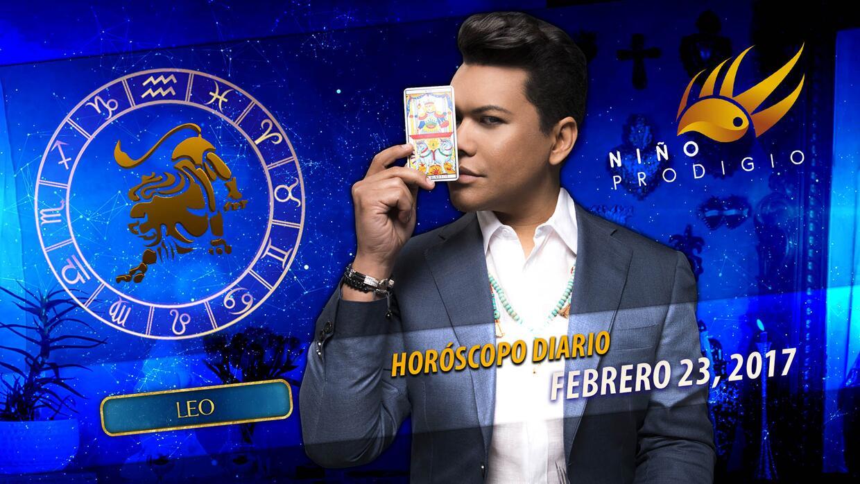Niño Prodigio - Leo 23 de febrero, 2017