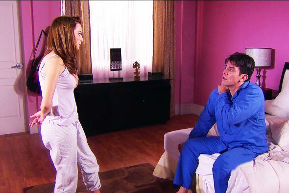 No puedes negar que pasaste una gran noche Fernando, dormiste como nunca...