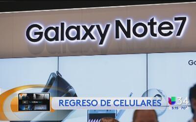 Samsung pide a los usuarios regresar su Galaxy Note 7