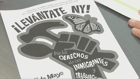 Planean marchas proinmigrantes en todo el estado de Nueva York el 1 de mayo