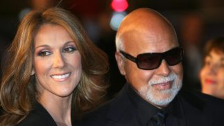 Celine Dion y Rene Angelil