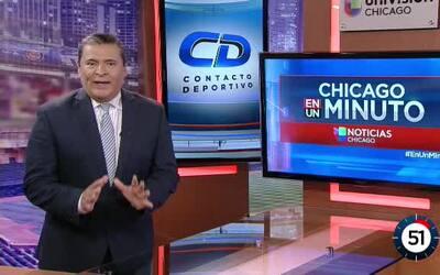 Contacto Deportivo Chicago en un minuto: El gran triunfo de los Bulls fr...