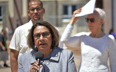 ARCHIVO - En esta foto del 5 de mayo del 2016, la representante estatal...