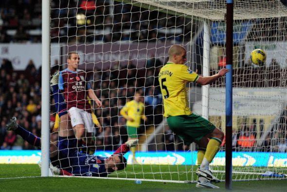 Aston Villa consiguió una importante victoria jugando en su casa.
