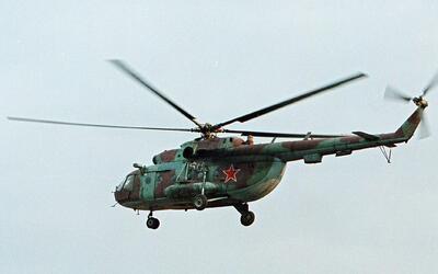 Imagen de archivo de un helicóptero Mi-8.