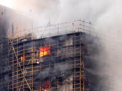 Al menos 53 personas murieron en un espectacular incendio de un céntrica...