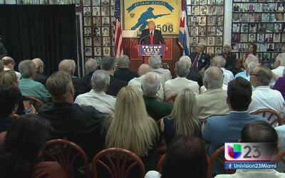 Donald Trump se reúne con la comunidad cubanoamericana de Miami