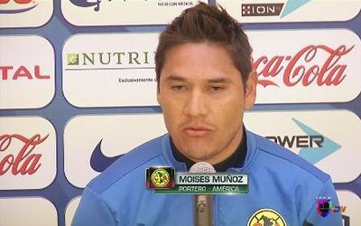 Moises Muñoz quiere que el equipo sea más agresivo