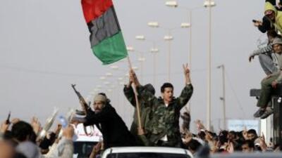 El gobierno libio daba entonces la cifra de 300 muertos. Pero en medios...