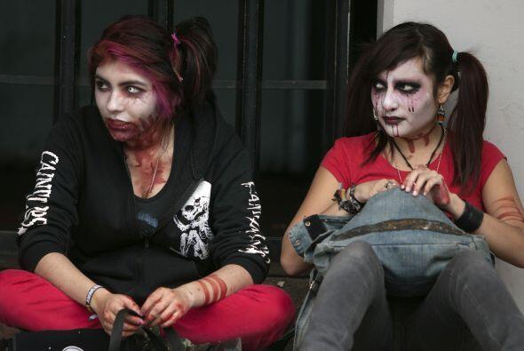 La no discriminación, porque un zombie muerde parejo.