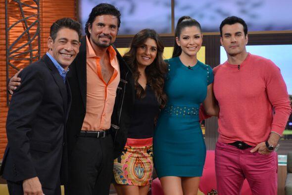 David Zepeda, Diego Olivera y Mayrín Villanueva llegaron a nuestr...