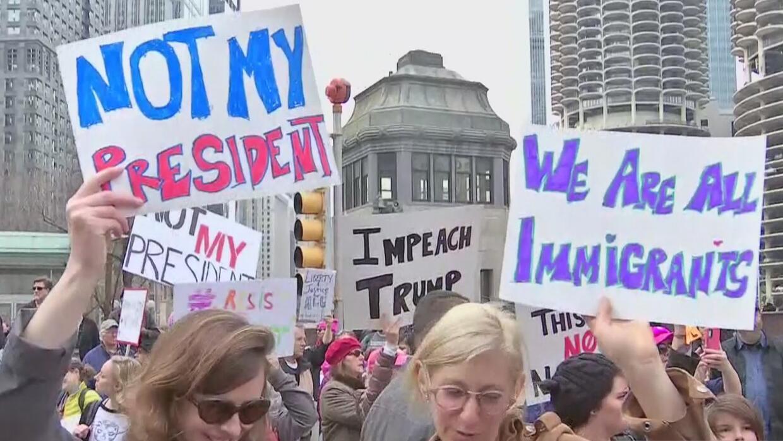 En la conmemoración del Día del Presidente, miles de personas en todo el...
