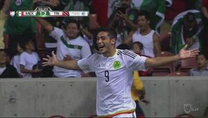 Jugada de lujo y autogol para el empate de Mexico