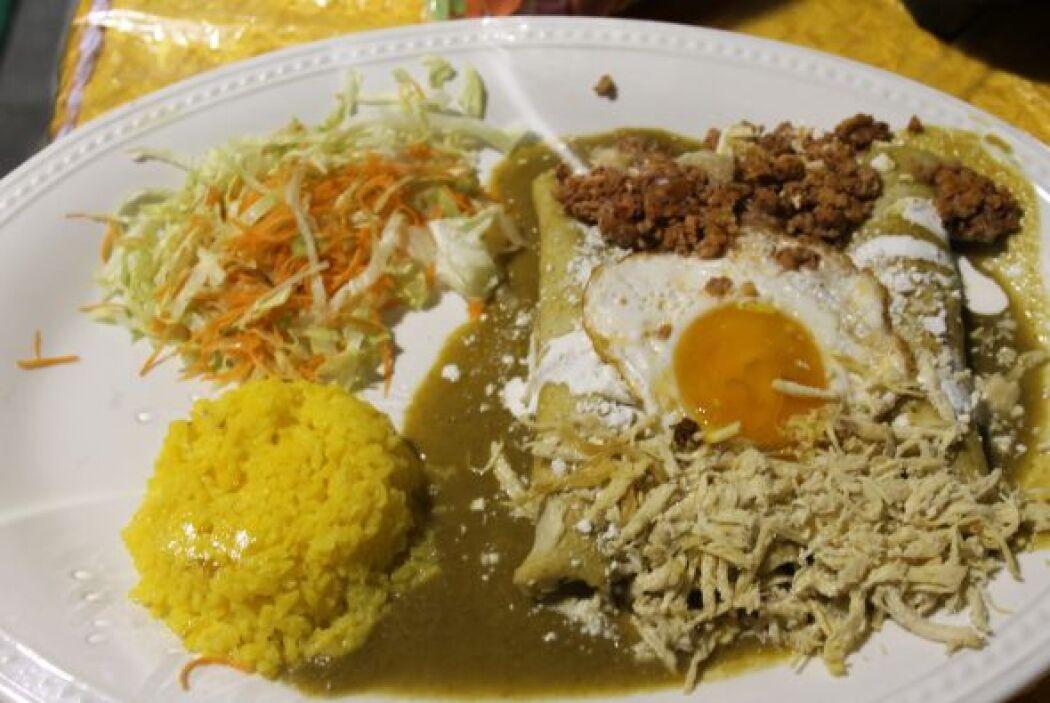 Algunas vienen acompañadas de arroz con un toque de curry.