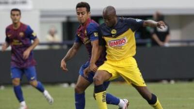El último duelo entre Barcelona y América fue en agosto del 2011.