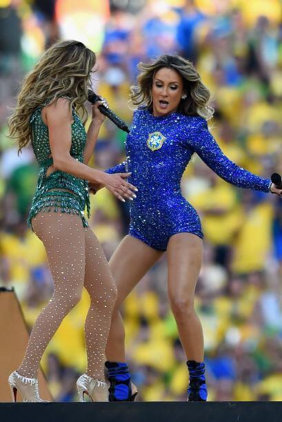 Le enseñó algunos pasitos de samba a su colega.Todo sobre el Mundial de...