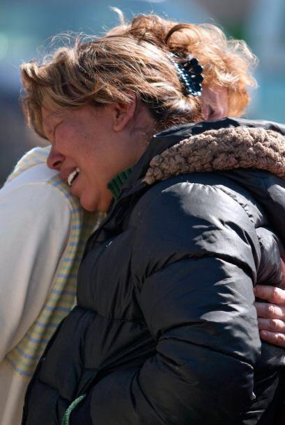 Los padres de las víctimas se indignaron y obligaron a Calder&oac...