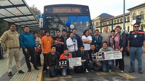 Cuando el Transantiago retiró la línea de buses 122, los m...