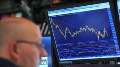 El Dow Jones bajó a niveles no vistos desde finales de 2008 por las preo...