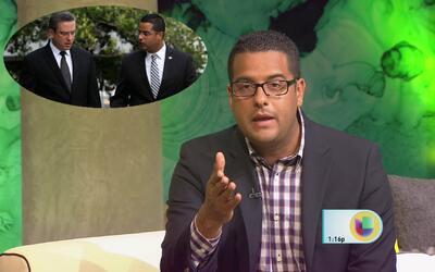 Alejandro García Padilla fue reclutado como panelista de WKAQ 580 por Je...