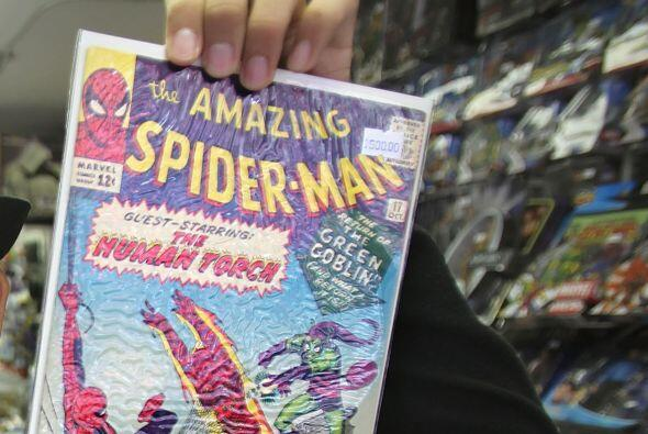 Entre los superhéroes que existen, desde niño le gustó coleccionar el có...