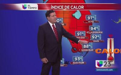 El calor para Miami