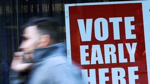 Los centros de votación anticipada cierran el 5 de noviembre en F...