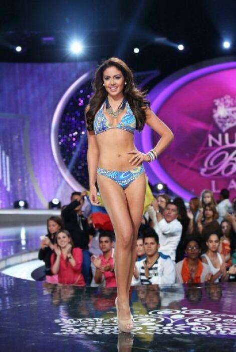 En el 2010 se presentó a la audición de Miami de Nuestra Belleza Latina...