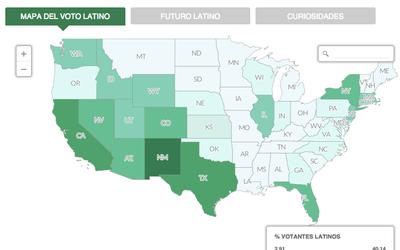 El Mapa del Voto Latino
