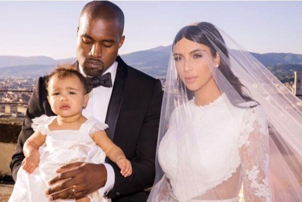 La invitada especial en la boda de Kim y Kanye.