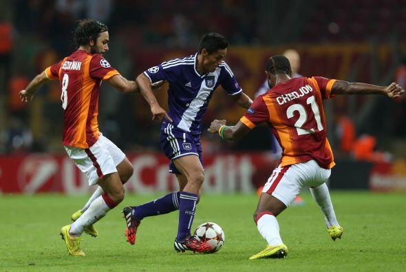 En Turquía el Galatasaray apenas pudo rescatar el empate a un gol ante e...