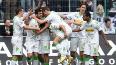 Juan Arango salvó un empate para Borussia Mönchengladbach.