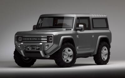 La Ford Bronco Concept 2004, fue un estudio sobre la posibilidad de revi...