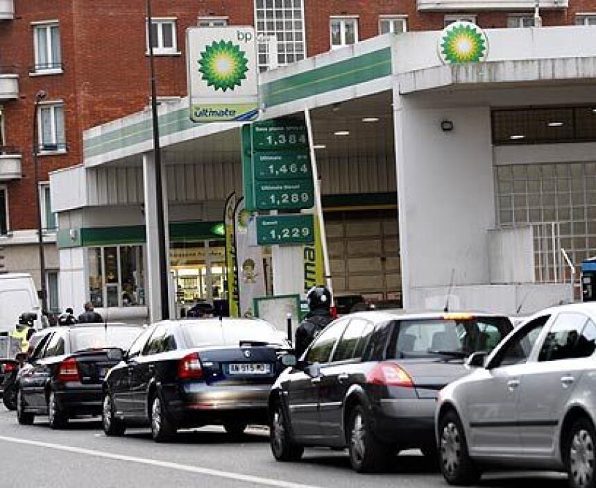 ¿Dónde está la gasolinera?: La mayoría de los terrenos donde se encuentr...