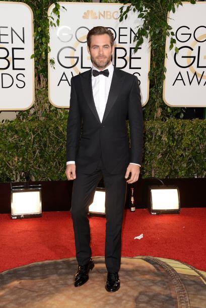 Chris Pine estuvo entre la lista de los galanes mejores vestidos. &iques...