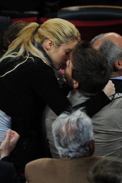 Los meses han pasado pero el amor entre Shakira y Gerard Piqué se ha man...