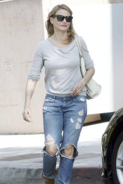 ¡La que fue más aventurera con sus 'jeans' fue Cameron Díaz! Ella sí que...