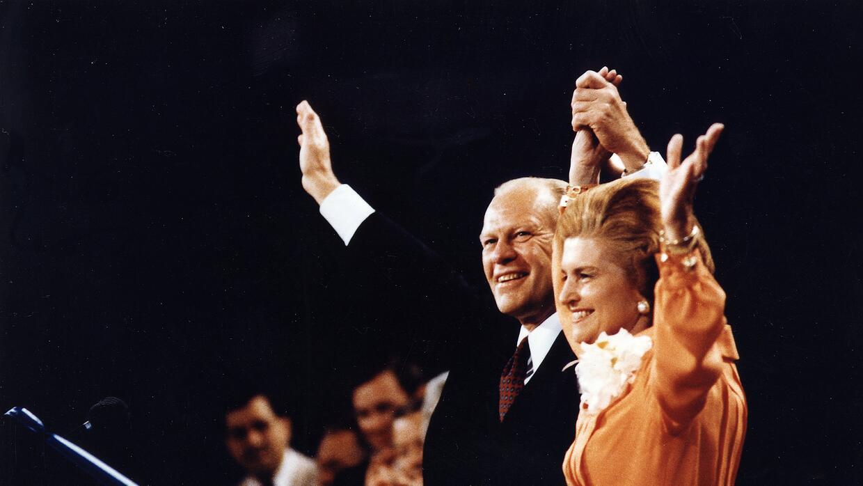Gerald Ford ganó por un escaso margen la convención republicana en 1976