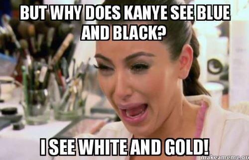 Kim Kardashian sufría porque Kanye lo veía de otro color.