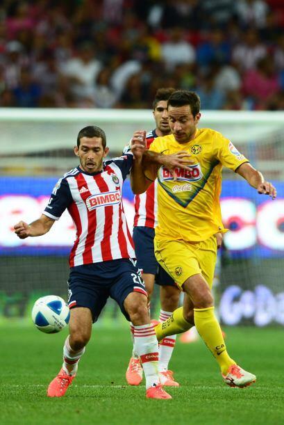 Israel Castro (8).- De lo más rescatable para el Guadalajara, recibió la...