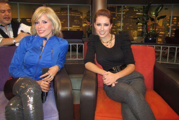 Sofia Lama de Eva Luna compartió con Gloria Trevi, que seg&uacute...