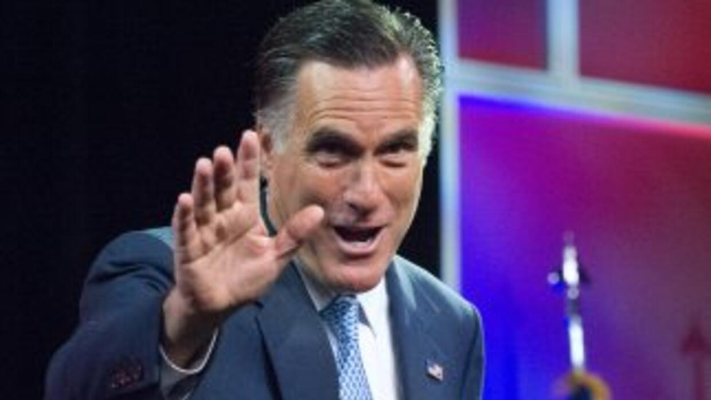 Mitt Romney decidió asistir a la 103 convención anual de la NACCP -la ma...