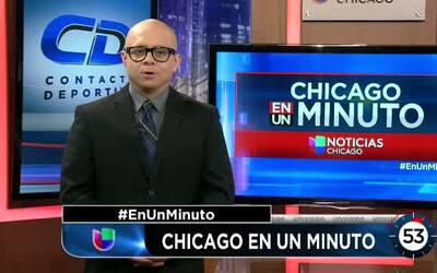 Contacto deportivo Chicago en un minuto: Bulls y Celtics listos para sac...