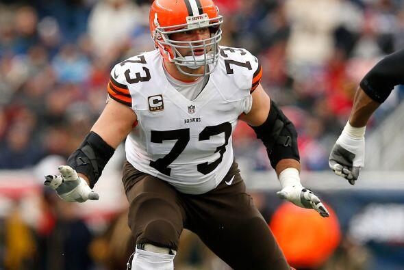 Tackle ofensivo: Joe Thomas, Cleveland Browns.